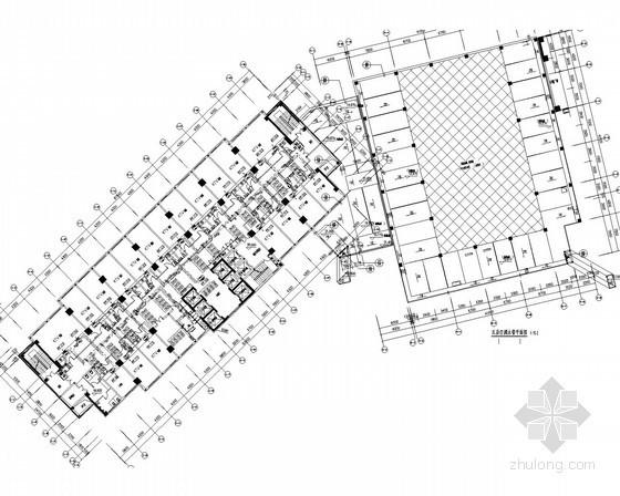 [浙江]五星级大酒店空调通风及防排烟系统设计施工图(系统详图多)