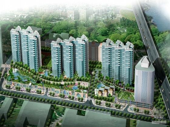 [深圳]百仕达某区规划建筑概念设计方案文本(含CAD总平)