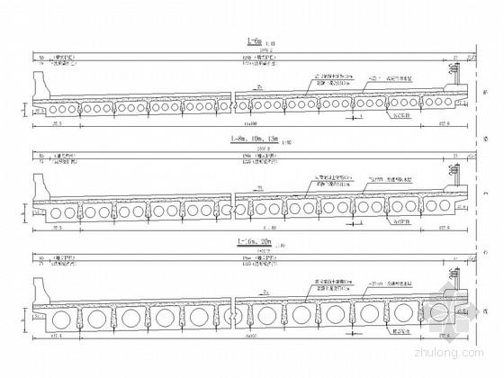 装配式钢筋、预应力混凝土空心板桥上部构造通用图(106张 知名大院)