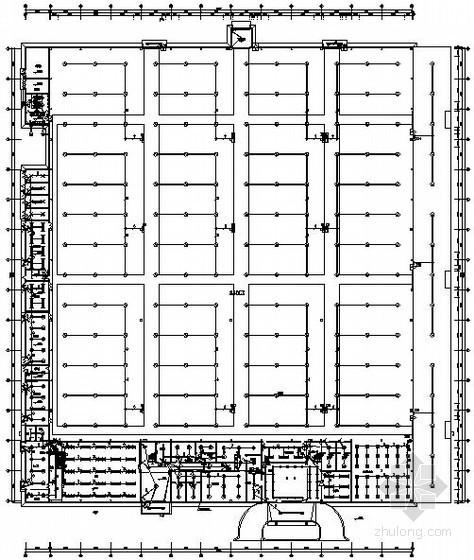 某二层工业厂房电气图纸