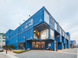 韩国集装箱集市