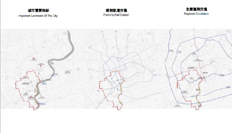 上海徐汇区滨江绿带实施方案-区域交通分析