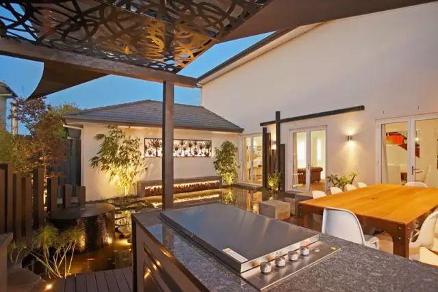 赶紧收藏!21个最美现代风格庭院设计案例_163