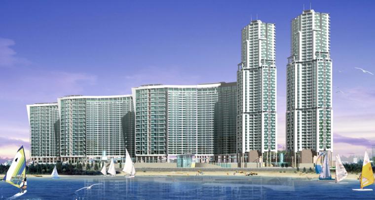 UA城的平凡建筑资料下载-[深圳]海景城建筑设计规划方案