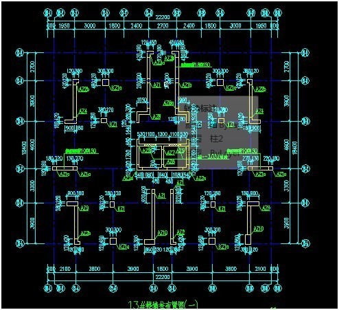 讲解施工总平面图与各楼图纸之间坐标的转换!_2