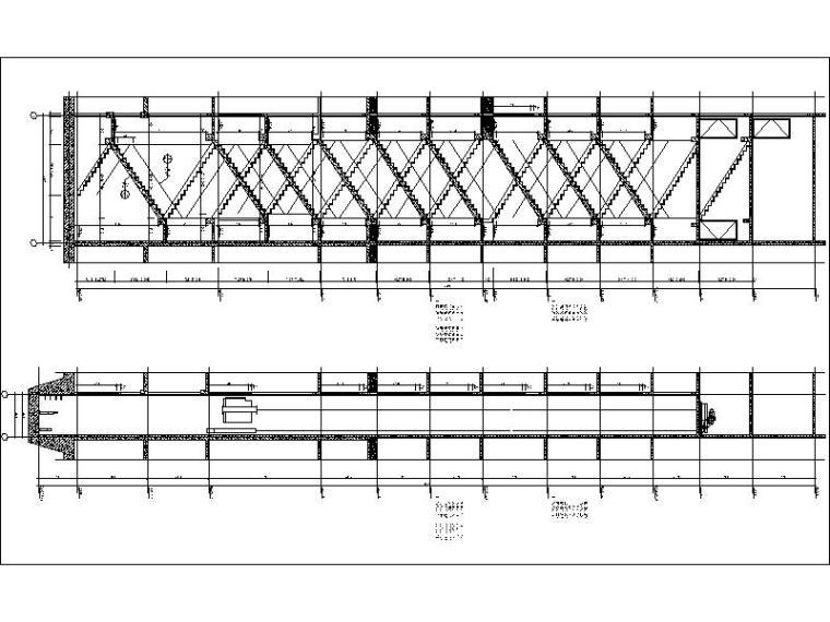 [广西]经典欧式立面风格高层住宅施工图-经典欧式立面风格高层住宅剖面图
