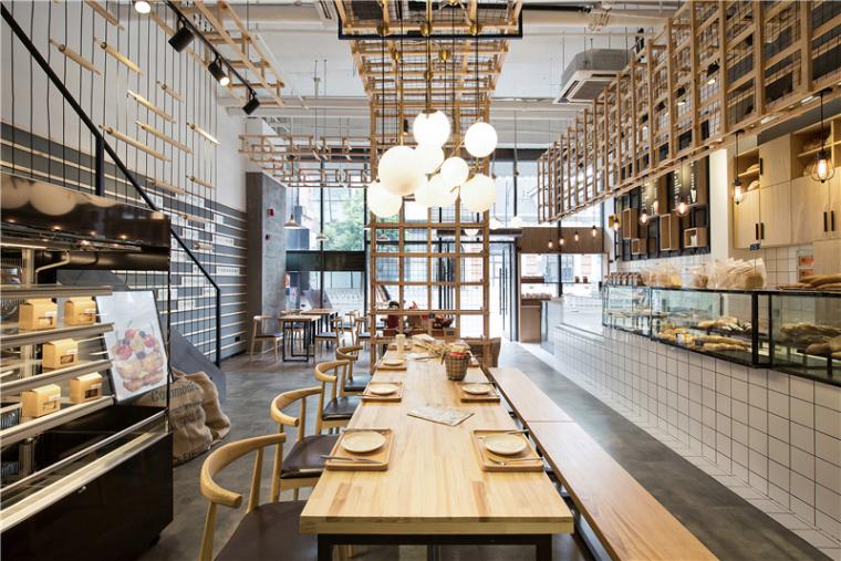 我的年度作品+美自在烘焙餐厅/众舍空间设计