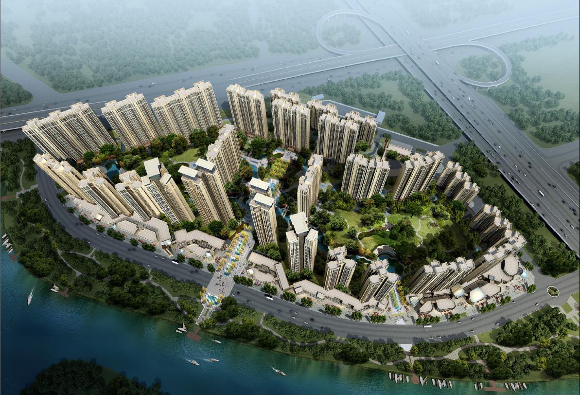 现代风两个男的图片_[四川]现代artdeco风格超高层住宅设计方案文本(含两套方案)