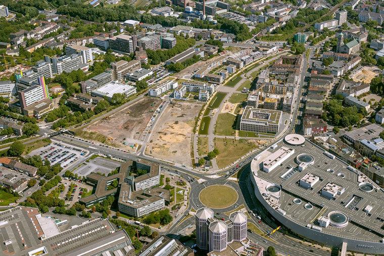 1-德国埃森大学公园景观设计第1张图片