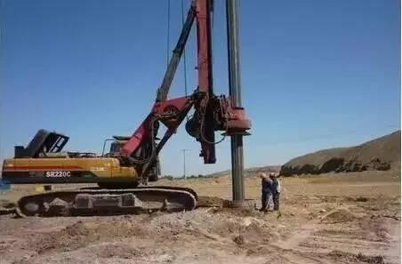 钻孔灌注桩施工工艺详解,施工轻而易举