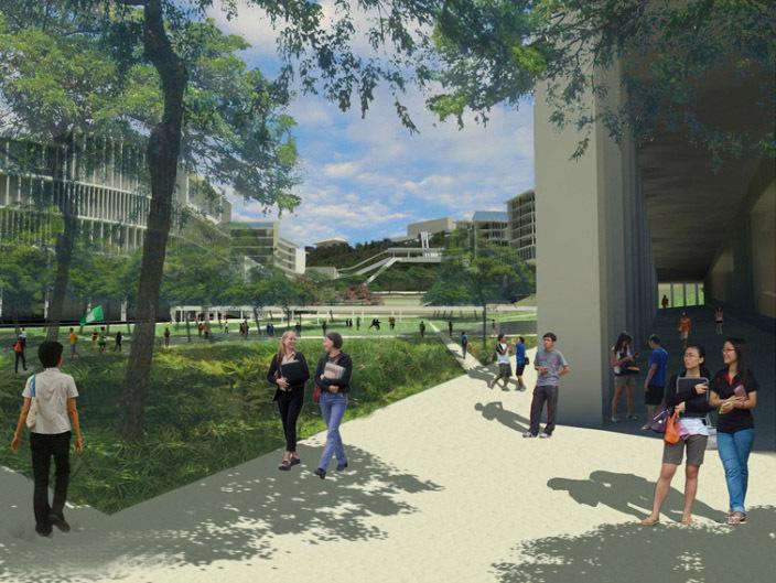 新加坡国立大学校园总体规划