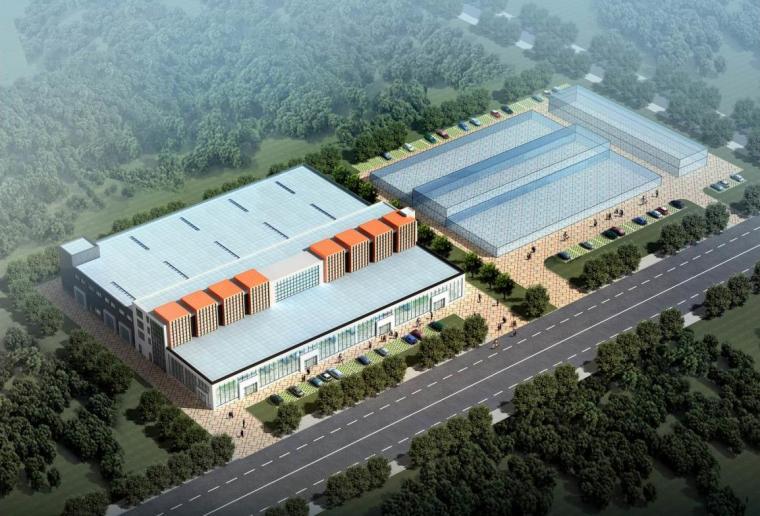 [宁夏]四层框架结构全套高密度4S汽车店建筑施工图