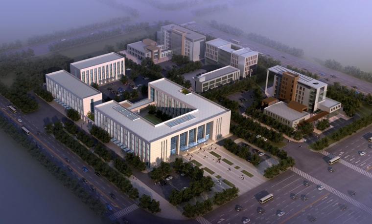 [四川]中国院落式形态机关办公楼建筑设计方案文本(16年最新)