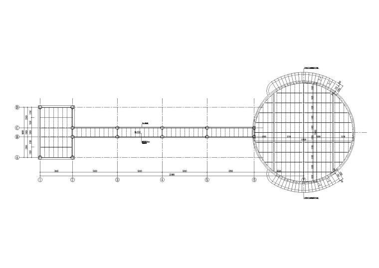 [四川]钢框架售楼部结构施工图(含焊接节点详图)