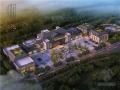 [重庆]新中式多层办公楼及配套设施建筑方案图(原创设计含效果图)