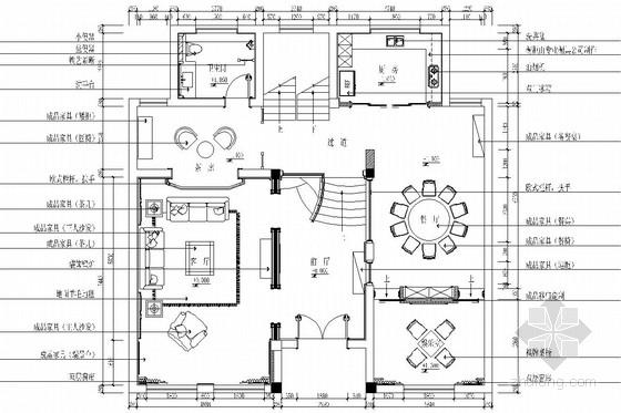 [浙江]风景优美交通便利欧式风格三层别墅装修图(含效果图)
