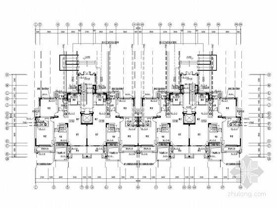 [安徽]多层住宅楼给排水消防施工图(15年最新设计 太阳能热水系统 冷凝水)