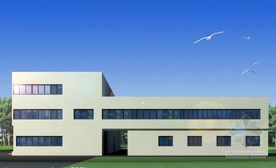 [毕业设计]江苏厂房建筑工程量计算及清单计价编制实例(含施工图纸)