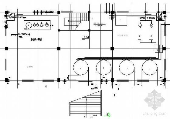 某学校游泳池循环水设备工艺系统图