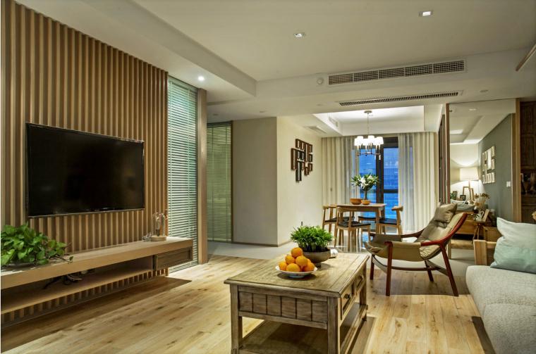宁波木材质世贸湾公寓-1