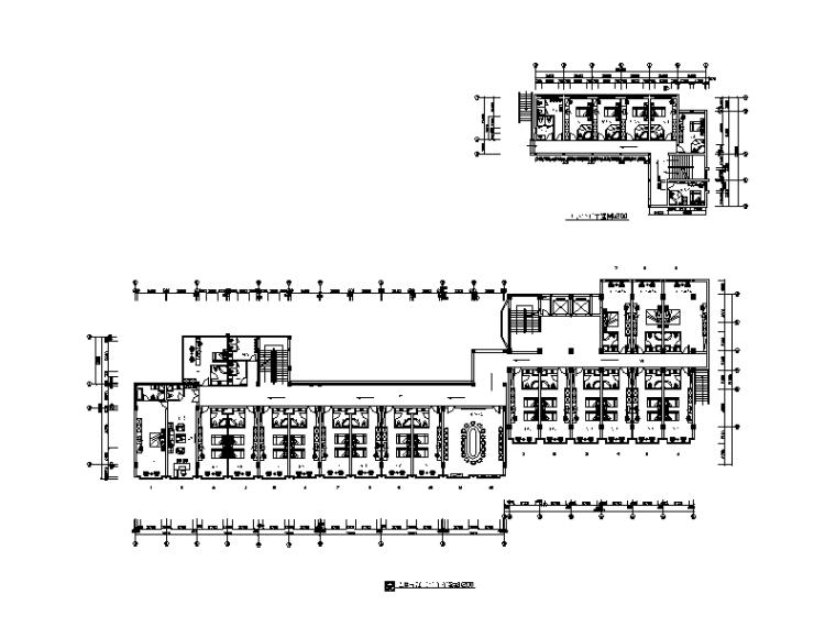 [福建]整套高端大酒店设计CAD施工图(含效果图)