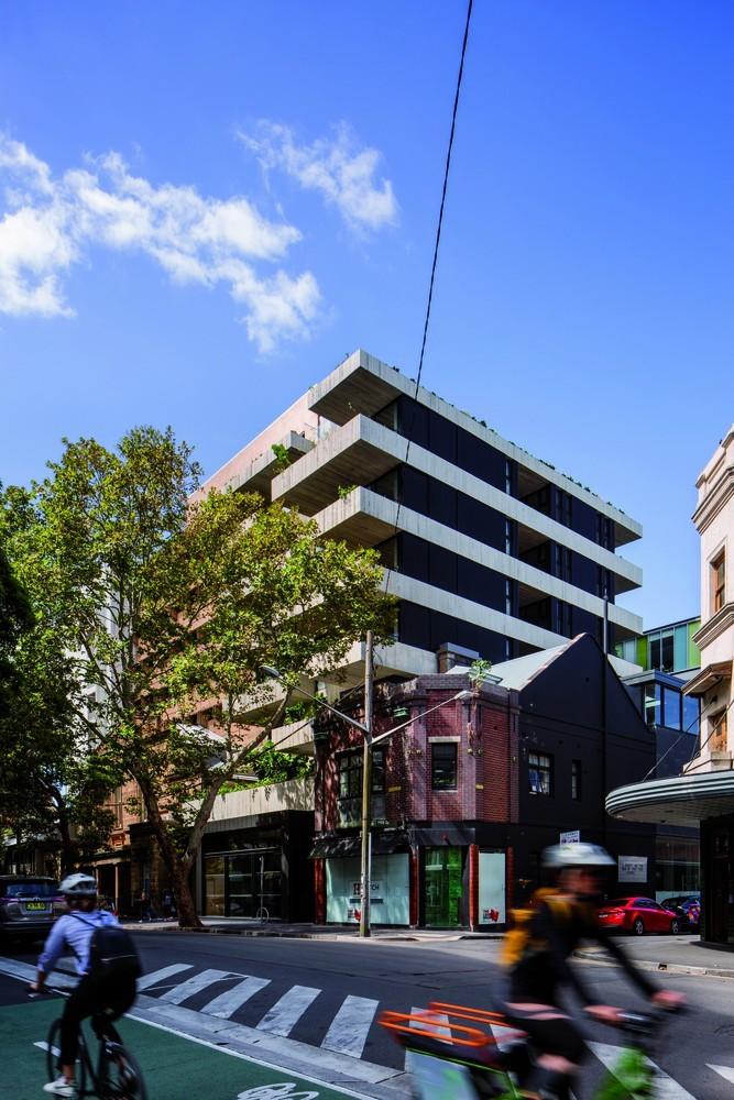 澳大利亚22套独特混合公寓外部实景图