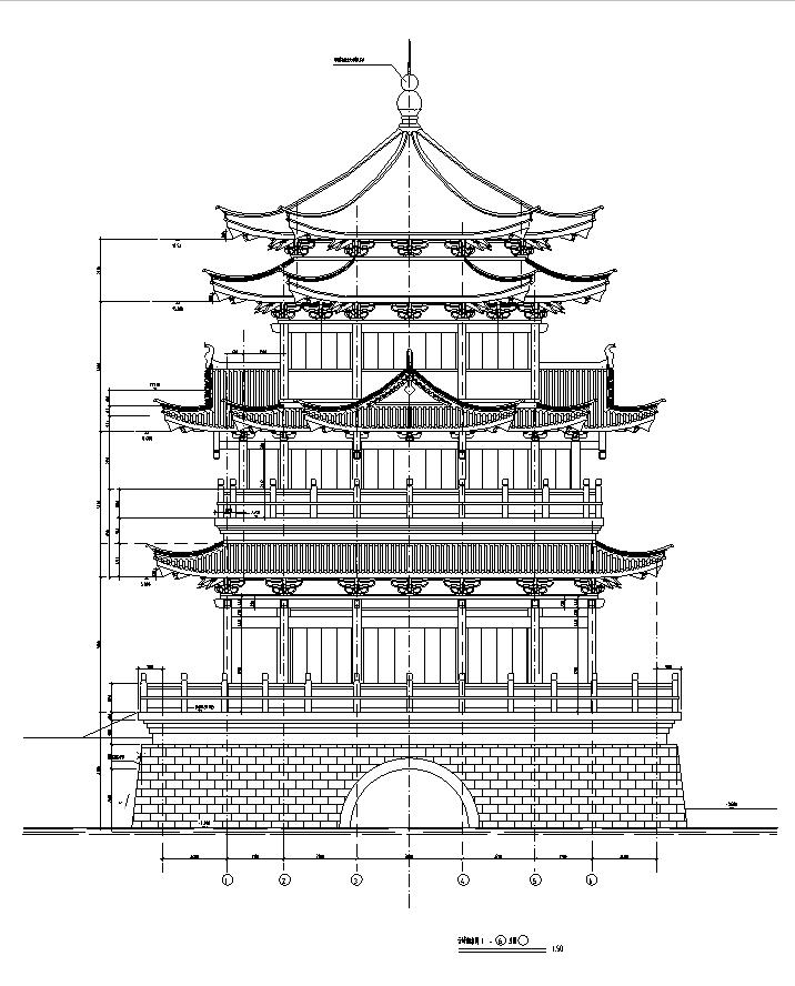 [施工图][合集]上百套传统风格古建筑设计方案图(含木结构建筑)