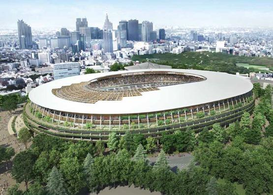 环保人士要求日本停止采伐森林建设奥运会体育场