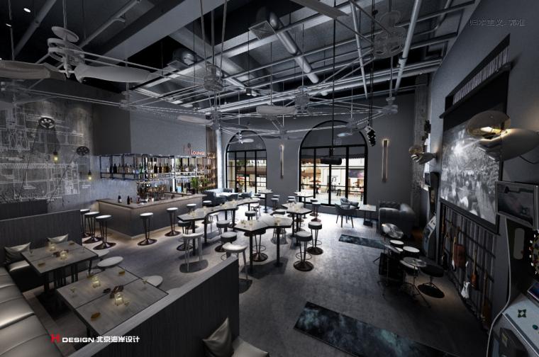 咖啡餐厅设计,红树林度假世界H·Lounge酒吧_6