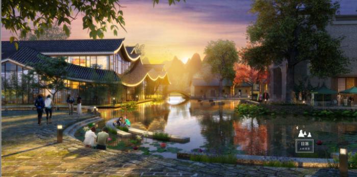 [广西]桂林风情古镇老街乡村景观设计方案(赠项目lumion动画)-效果图4