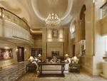 豪华欧式客厅3D模型下载