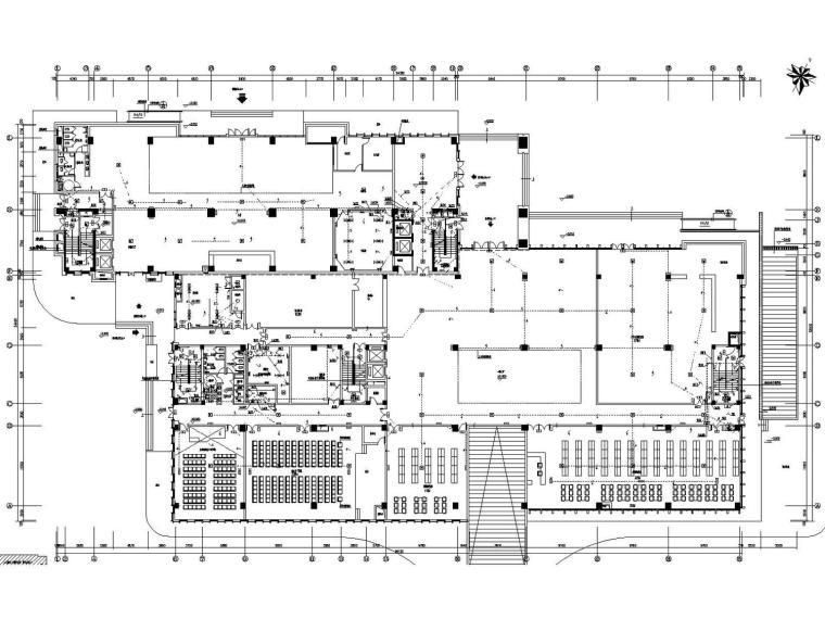 [浙江]综合大楼图书馆档案馆强电智能化全套施工图(含发电机房)