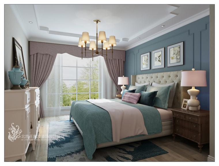 传统美式风格别墅设计
