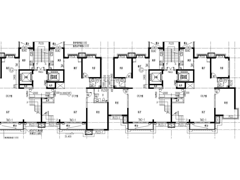 [宁夏]银川市金溪里30层小区建筑150张全套施工图(建筑、结构、水暖电应有尽有)_5