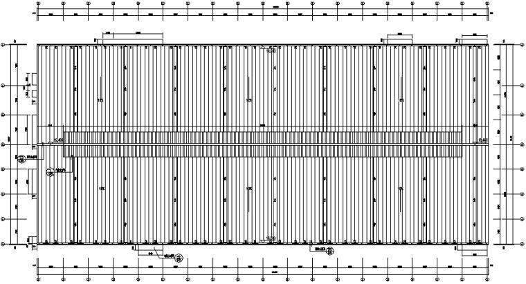 福建细木工板车间单层门式刚架结构施工图_2