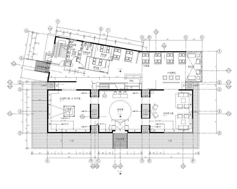梁志天-北京耕天下室内办公空间装修施工图