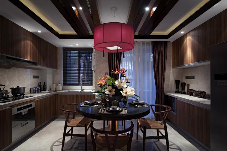 江苏无锡复地悦城花园120平样板房室内设计方案