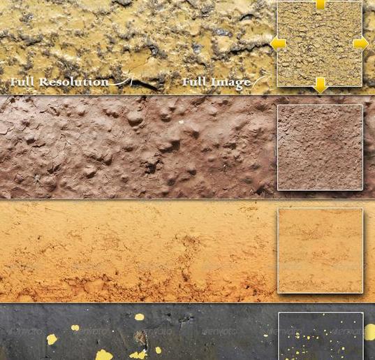 国外景观平面图材质素材psd格式