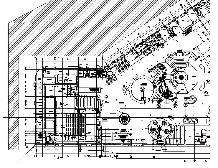 南京大型主题乐园暖通设计施工图