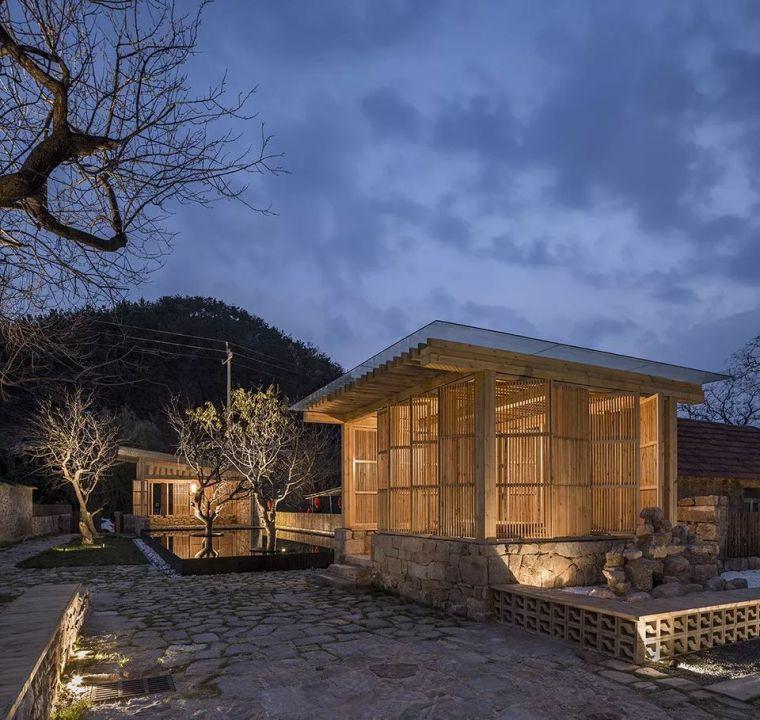 百年古村里的民宿改造设计,美