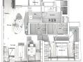 简约风格室内设计(附实景照片+施工图)20页