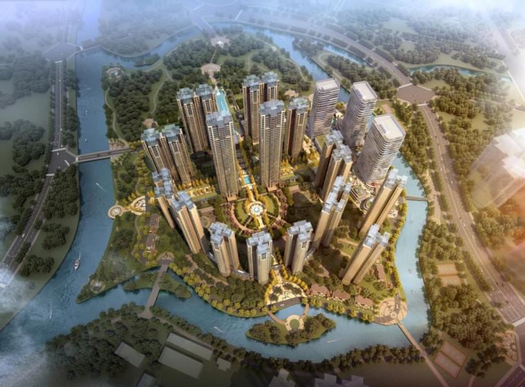 [四川]成都多地块综合居住区规划设计与户型设计方案文本(PPT)