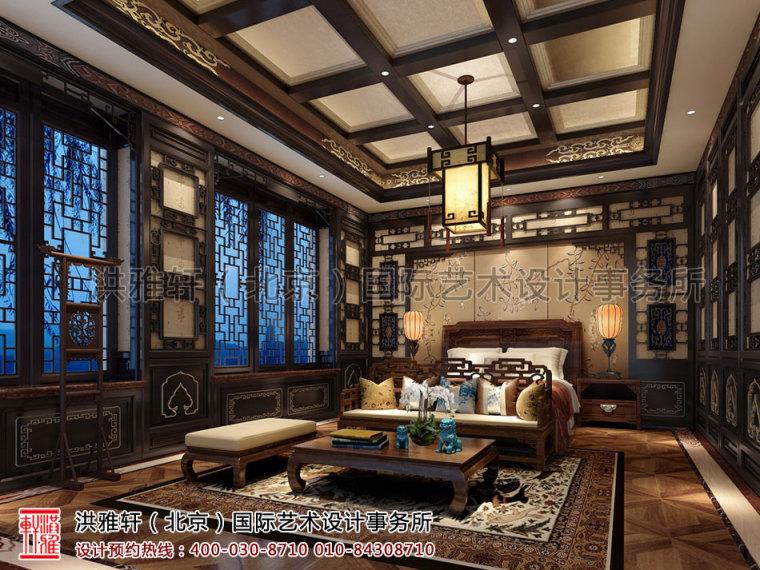北京古典中式装修茶楼会所奢华的古典音符_6
