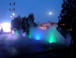 成都人造喷雾景观的运用及优劣势