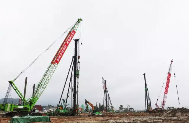 静钻根植桩在杭州岩土工程建筑工业化交流会广受好评!