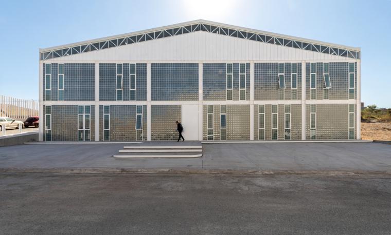 墨西哥服务钢铁Xray工厂建筑-1