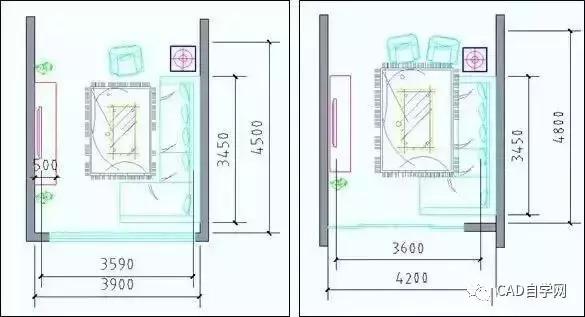 设计师终极福利!所有户型室内设计尺寸图解分析,建议永久收藏!_11