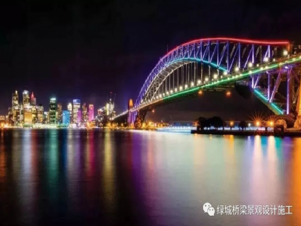 美轮美奂的景观桥梁界七仙女