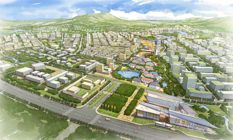江苏软件园吉山基地城市设计导则建筑设计方案文本
