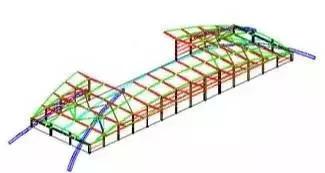 大跨度拱形钢结构安装施工工法_14